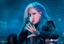 Arch Enemy by Athens music photographer Nondas Emmanouil