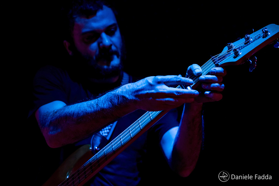Picture of Luca Cavina & Arto at Fabrik in Cagliari by Italy music photographer Daniele Fadda