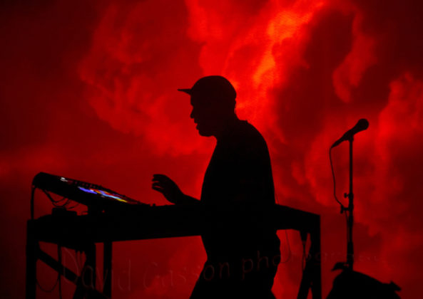 Picture of Moderat at the dimensions festival in Pula