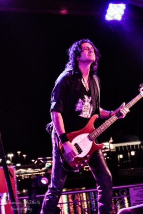 Picture of Last In Line in concert by Texas music photographer Shannon McElrath