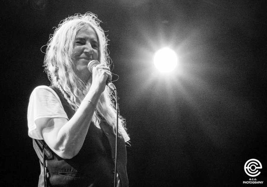 Patti Smith by Stockholm music photographer Eva Catarina Olausson