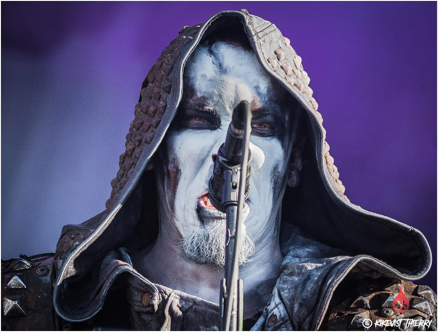 Picture of Behemoth Hellfest 2017