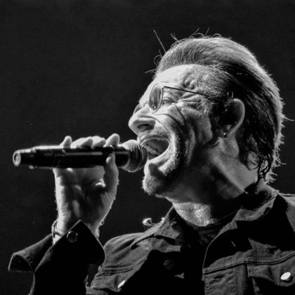 Picture of Bono from U2