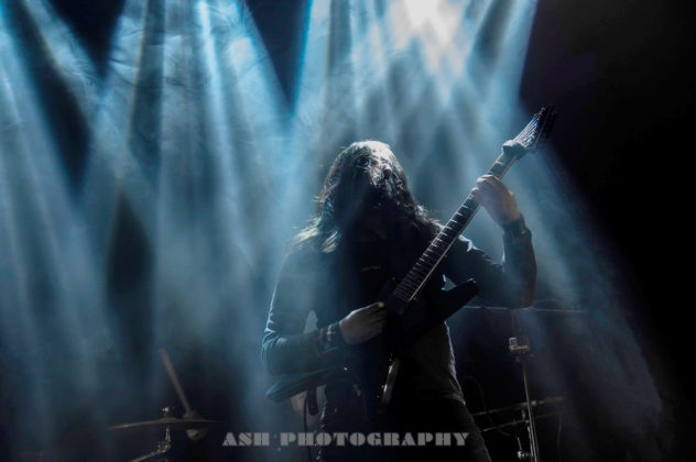 Picture of rock band DeathTune by Iran music photographer Arman Shahrokh