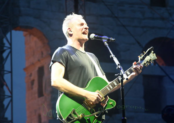 Picture of Joe Summer at the Sting concert Pula