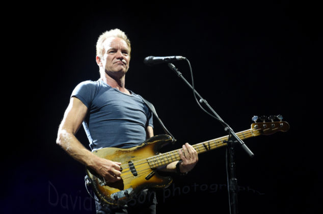 picture of Sting concert in Pula, Croatia by Croatian Music and Pit photographer David Gasson