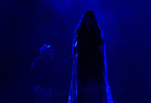 Picture of Haya at the Silk road festival in Pula, Croatia by theCroatian Music and Pit photographer David Gasson