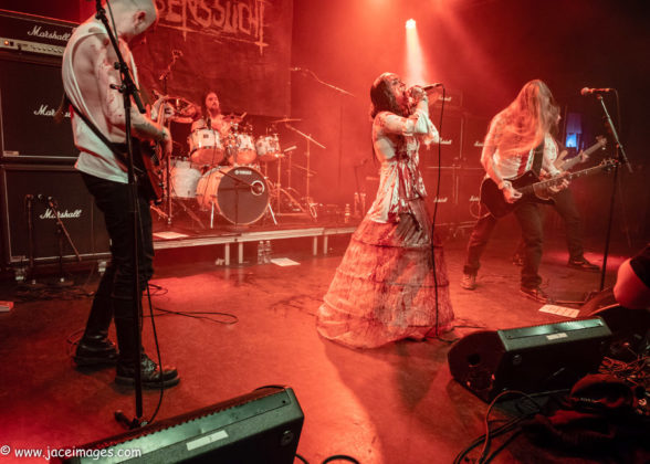 Picture of Lebenssucht at the Royal Metal Fest 2018 by Denmark music photographer Jason Champney